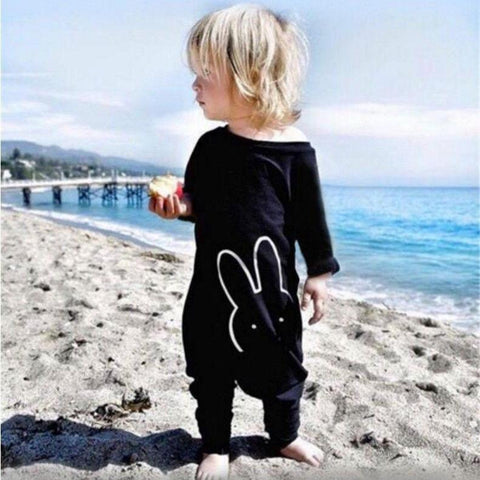 Image of PEACE BUNNY ROMPER/JUMPSUIT