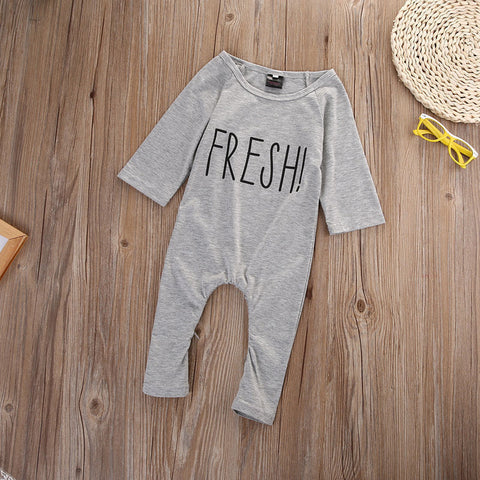 Image of KEEPING IT FRESH BABY ROMPER - Elsa Bella Baby