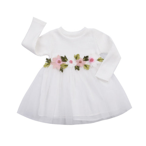 Image of FAITH FLORAL TUTU DRESS - Elsa Bella Baby