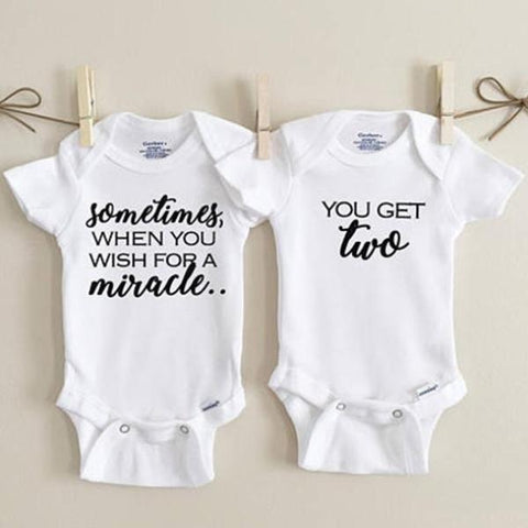 Image of TWINS MATCHING OUTFIT - Elsa Bella Baby