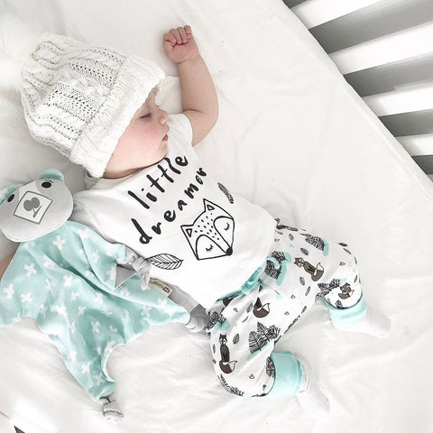 LITTLE DREAMER BABY OUTFIT (2PC SET)