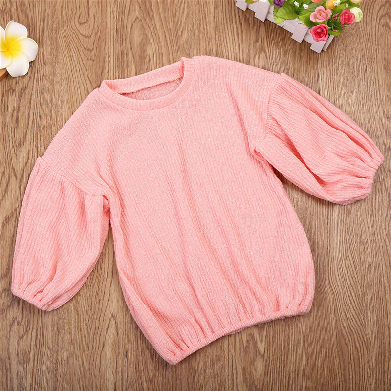 BELLE SLEEVE SWEATER (MORE COLORS) - Elsa Bella Baby