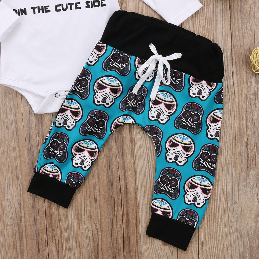 "THE ""CUTE SIDE"" OUTFIT (3PC SET) - Elsa Bella Baby"