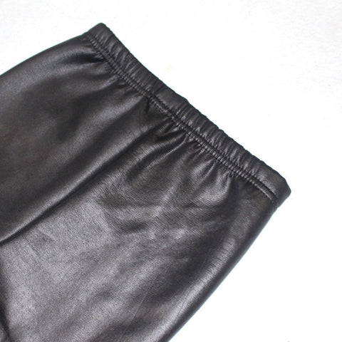 Image of FAUX GIRLS LEATHER PANTS (MORE COLORS) - Elsa Bella Baby