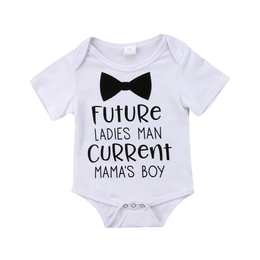 FUTURE LADIES MAN ROMPER - Elsa Bella Baby