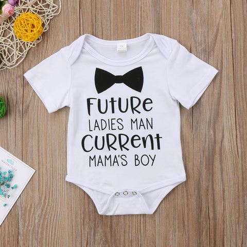 Image of FUTURE LADIES MAN ROMPER - Elsa Bella Baby