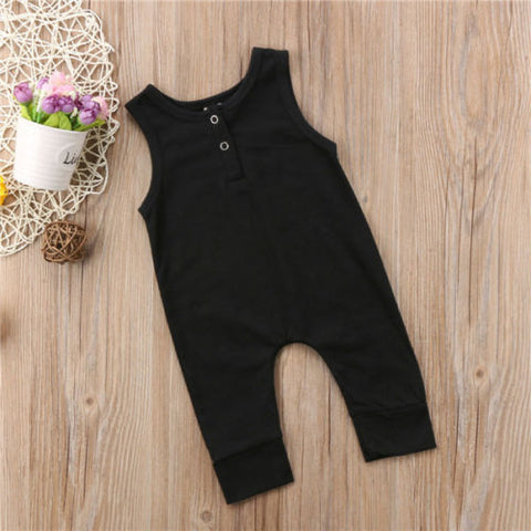 Image of BACK TO BASIC ROMPER - Elsa Bella Baby