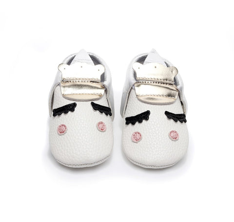 UNICORN MOCCASINS FOR BABY/TODDLER (MORE COLORS) - Elsa Bella Baby