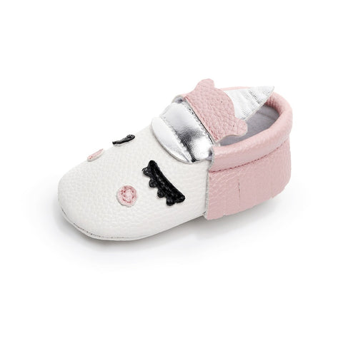Image of UNICORN MOCCASINS FOR BABY/TODDLER (MORE COLORS) - Elsa Bella Baby