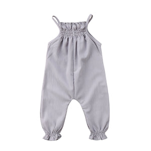 HADLEY HAWAIIAN BREEZE STRAP JUMPSUIT (MORE COLORS) - Elsa Bella Baby
