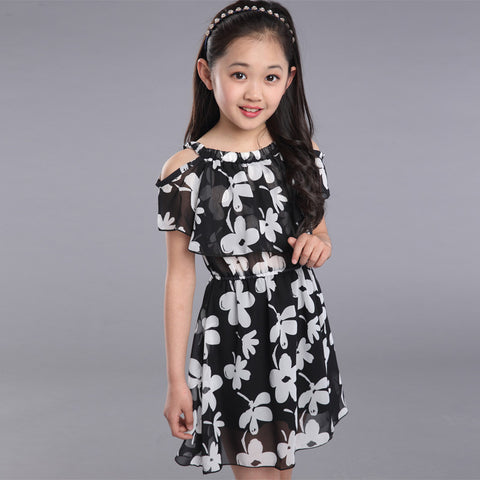 ELLE CHIFFON DRESS - Elsa Bella Baby