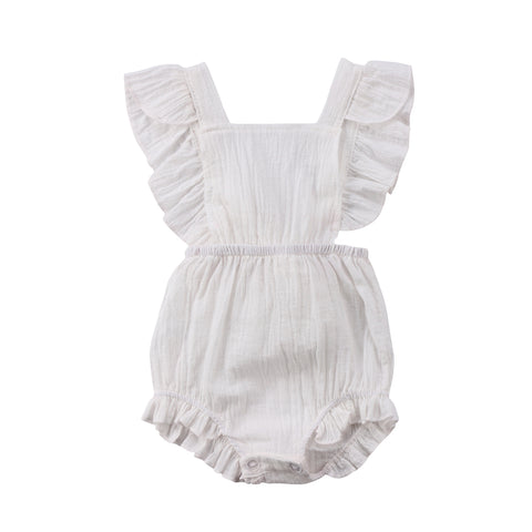 JULIET RUFFLE ROMPER (MORE COLORS) - Elsa Bella Baby