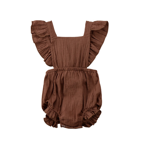Image of JULIET RUFFLE ROMPER (MORE COLORS) - Elsa Bella Baby