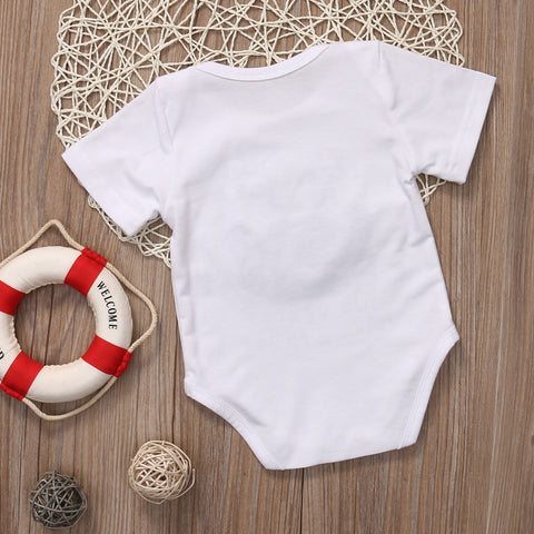 DAD AND BEARD ROMPER - Elsa Bella Baby