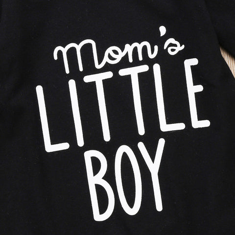 Image of MOM'S LITTLE BOY ROMPER