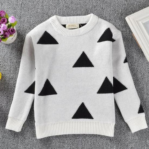 MOMMY + ME - TRIBECA TRIANGLE SWEATER