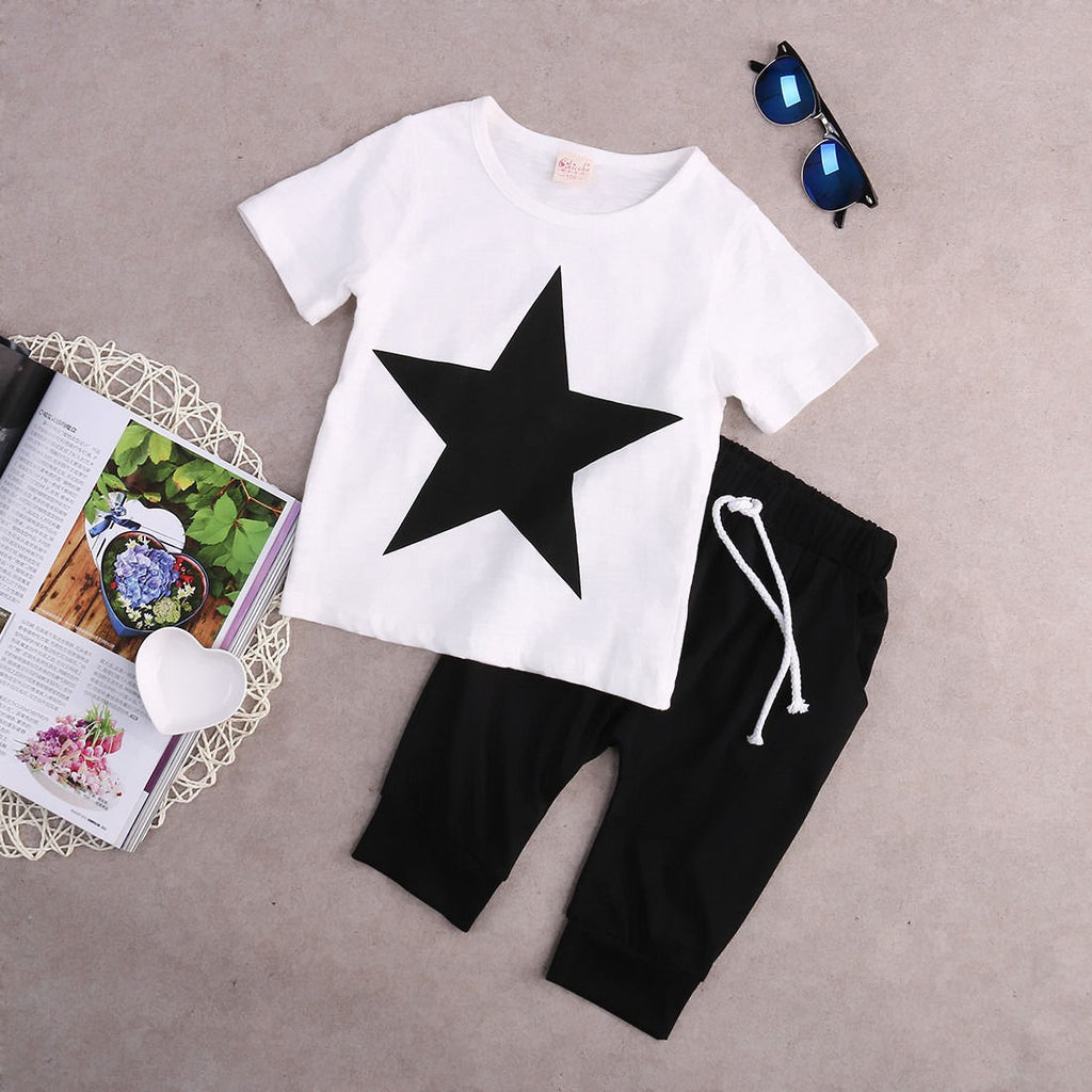 SUPER STAR OUTFIT (2PC SET) - Elsa Bella Baby