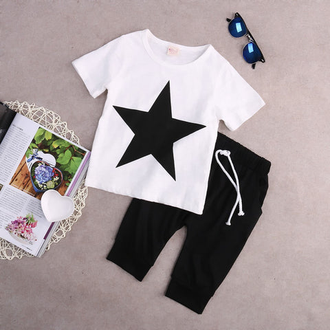 Image of SUPER STAR OUTFIT (2PC SET) - Elsa Bella Baby