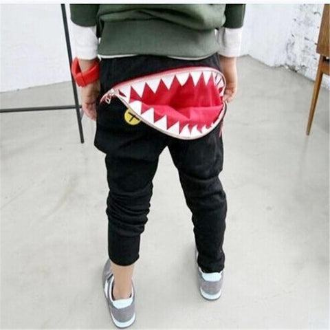 Image of SHARK BITE ZIPPER HAREM PANTS (MORE COLORS) - Elsa Bella Baby
