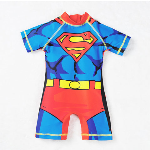 Image of SUPERHERO BODYSUIT (UPF 50+, MULTIPLE STYLES) - Elsa Bella Baby