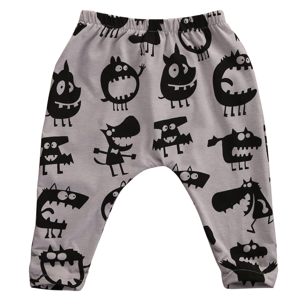 LITTLE MONSTER HAREM PANTS (MORE COLORS)