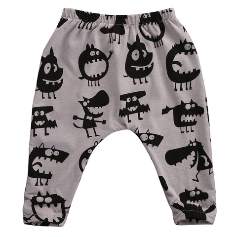 Image of LITTLE MONSTER HAREM PANTS (MORE COLORS)