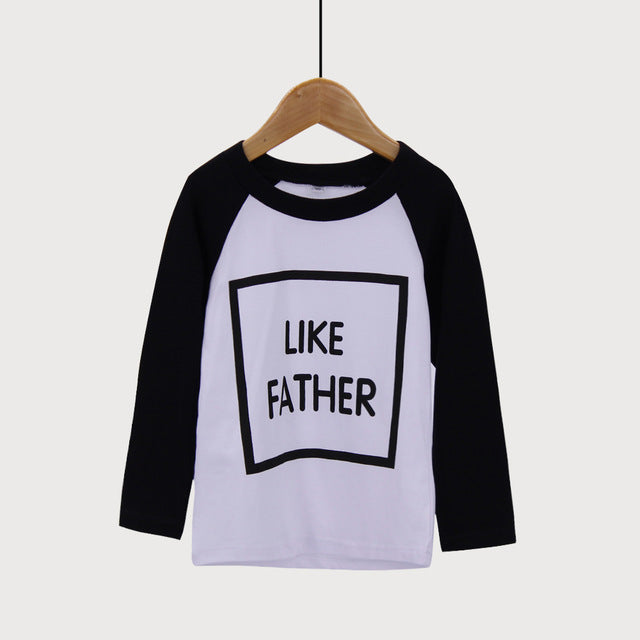 DADDY + ME LIKE FATHER LIKE SON MATCHING SHIRTS - Elsa Bella Baby