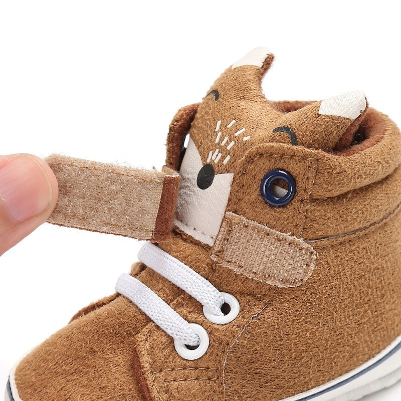 KANGO BABY BOOTS (BROWN FOX) - Elsa Bella Baby