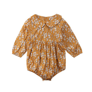 Bella Boho Long Sleeve Romper - Elsa Bella Baby