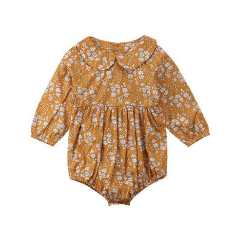 Image of Bella Boho Long Sleeve Romper - Elsa Bella Baby