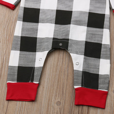Image of Plaid Baby Two-Piece Outfit