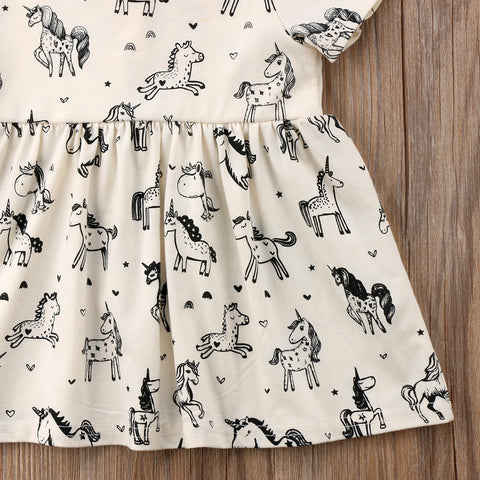 Image of Ursula Unicorn Dress - Elsa Bella Baby