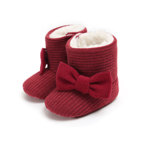 Image of Willow Winter Baby Boots (0-18M) - Elsa Bella Baby