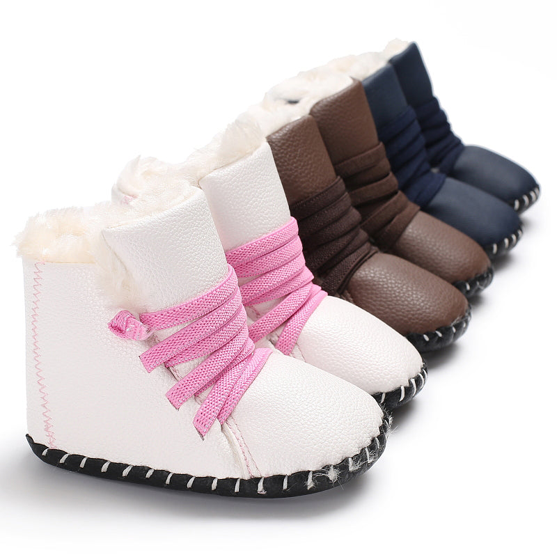 Winter Boots (Soft Sole Shoes) - Elsa Bella Baby
