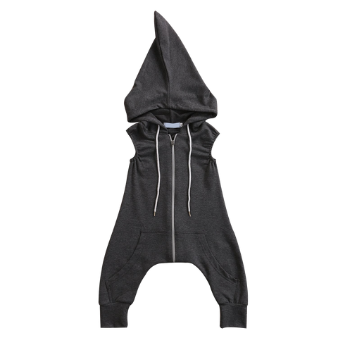 Image of ROBIN HOODED HAREM ROMPER/JUMPSUIT