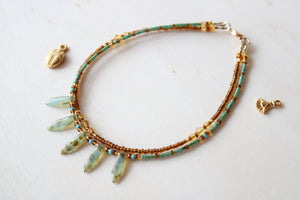 10 Anklet - Gold Filled