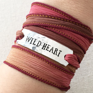 Clair Ashley - Wild Heart Wrap Bracelet