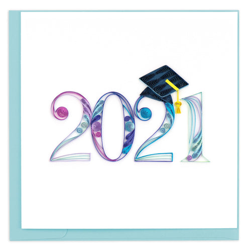 Quilling Card - 2021 Graduation