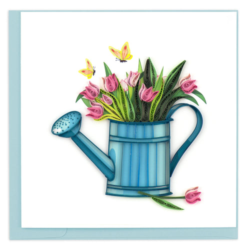 Quilling Card - Happy Gardening