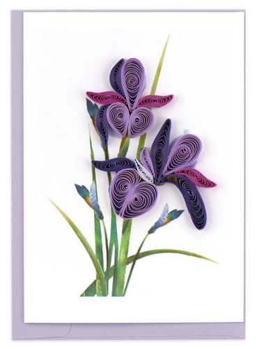 Quilling Card - Iris Gift Enclosure