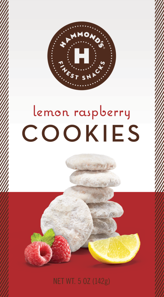 Hammond's Candies - Lemon Raspberry Cookies