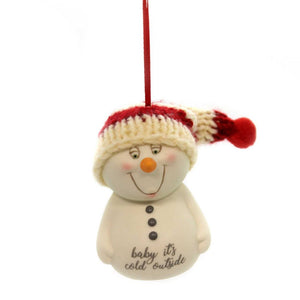 Snowpinions Baby Its Cold Outside Ornament