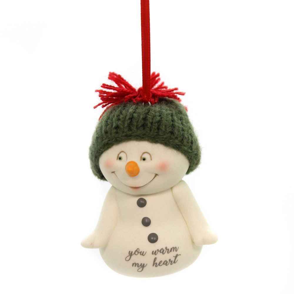 Snowpinions You Warm My Heart Ornament