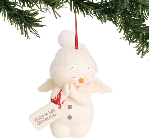 Snowpinions Baby's 1st Christmas Ornament
