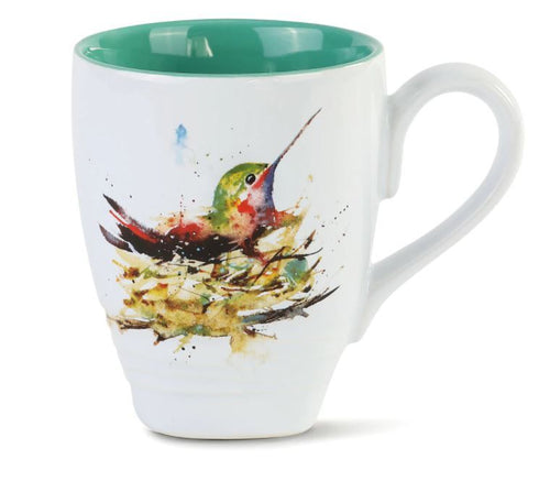 DC Hummingbird in Nest Mug