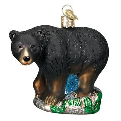 OWC Black Bear Ornament