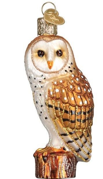 OWC Barn Owl Ornament