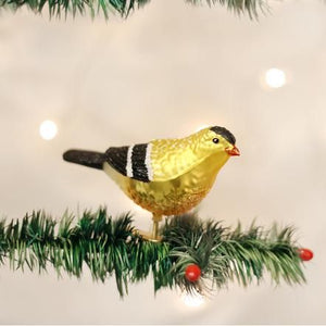 OWC American Goldfinch Ornament