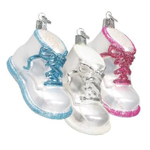 OWC Baby Shoe Ornament