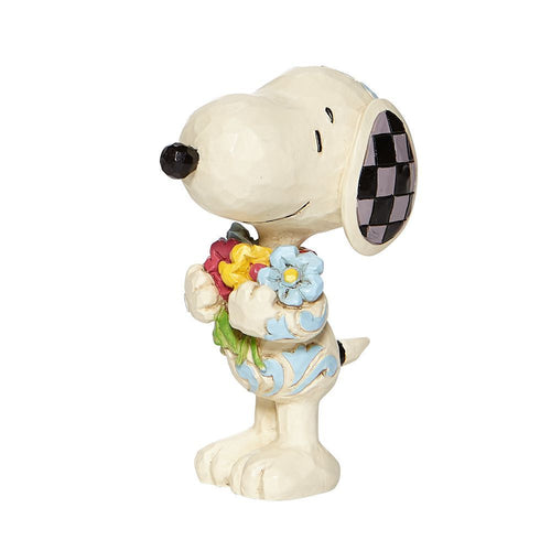 JS Mini Snoopy with Flowers